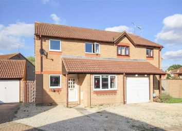 Thumbnail 3 bedroom semi-detached house for sale in Bancroft Close, Grange Park, Swindon