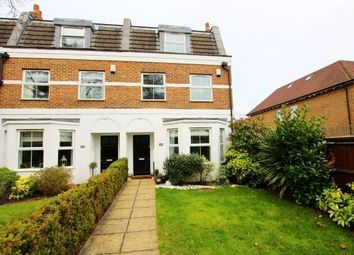 Thumbnail 4 bed town house to rent in Castle Road, Weybridge