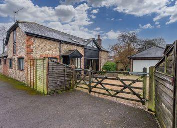 The Street, Boxgrove, Chichester PO18. 3 bed barn conversion for sale