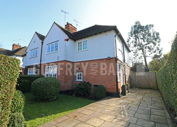Thumbnail 3 bed semi-detached house for sale in Brookland Hill, London