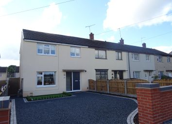 Thumbnail 3 bed end terrace house for sale in Melrose Road, Thringstone, Leicestershire