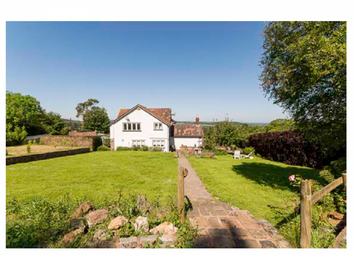 Thumbnail 4 bedroom farmhouse for sale in Oakridge Lane, Winscombe, Somerset