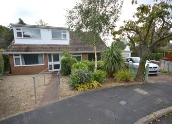 Thumbnail 4 bed detached bungalow for sale in Bindon Road, Exeter, Devon