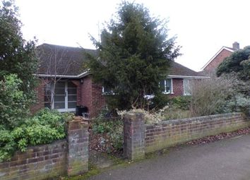 Thumbnail 3 bed bungalow for sale in The Ridgeway, Putnoe, Bedford, Bedfordshire