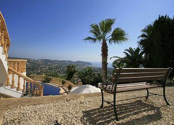 Thumbnail 7 bed villa for sale in Moraira, Valencia, Spain