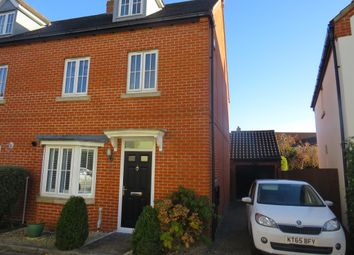 Thumbnail 4 bed end terrace house for sale in Whittington Chase, Kingsmead, Milton Keynes
