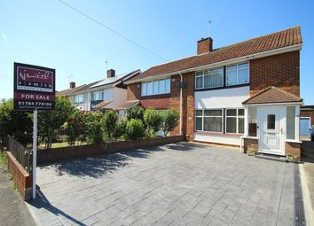 Thumbnail 3 bed semi-detached house for sale in St Marys Crescent, Stanwell, Staines-Upon-Thames