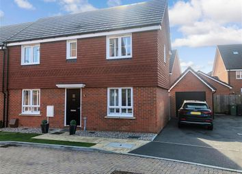 3 bed semi-detached house for sale in Hayward Road, Maidstone, Kent ME17