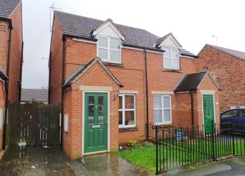 Thumbnail 2 bed semi-detached house to rent in Dean Road, Scunthorpe, North Lincs