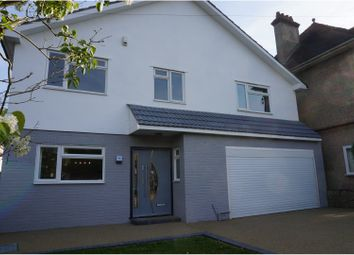 Thumbnail 5 bed detached house for sale in Queens Park Road, Bournemouth