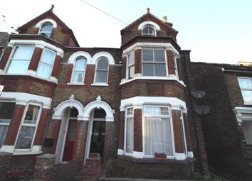 Thumbnail 3 bed flat to rent in Park Road, Sittingbourne