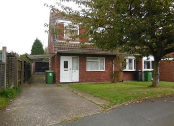 Thumbnail 3 bed semi-detached house to rent in Birchover Road, Walsall