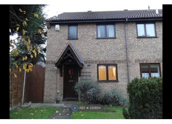 Thumbnail 3 bed end terrace house to rent in Royal Oak Close, Biggleswade