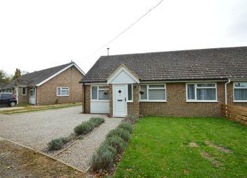Thumbnail 3 bed semi-detached bungalow to rent in Ashen Close, Ashen, Suffolk