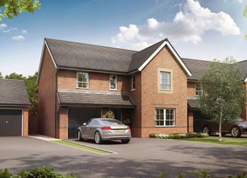 "Thumbnail 4 bed detached house for sale in ""Hale"" at Weston Hall Road, Stoke Prior, Bromsgrove"