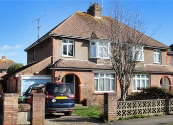 Thumbnail 3 bed semi-detached house for sale in Parkside Avenue, Littlehampton