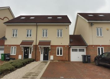 Thumbnail 4 bedroom town house for sale in Academia Avenue, Broxbourne