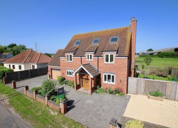 Thumbnail 5 bed detached house for sale in Catcott Road, Burtle, Bridgwater