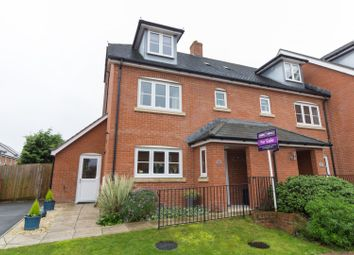 Thumbnail 4 bed semi-detached house for sale in Steeplechase Court, Andover