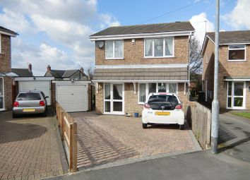 Thumbnail 3 bedroom detached house for sale in Barr Crescent, Whitwick, Leicestershire