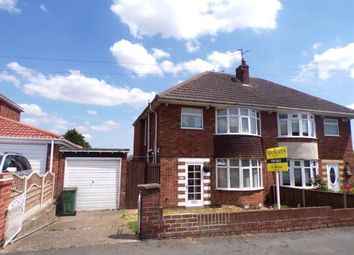Thumbnail 3 bed semi-detached house for sale in Northumberland Road, Wigston, Leicestershire