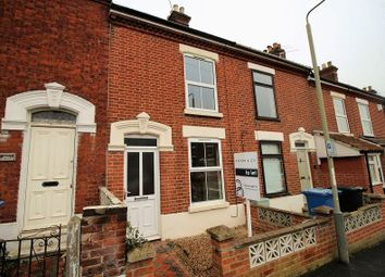 Thumbnail 2 bed terraced house to rent in Warwick Street, Norwich
