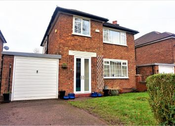 Thumbnail 3 bed detached house for sale in Newlands Road, Manchester