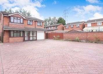 Thumbnail 5 bed detached house for sale in Walling Croft, Bilston