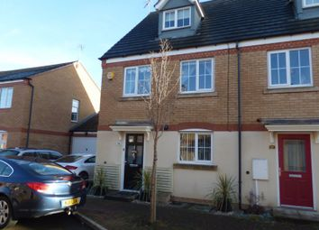 Thumbnail 3 bed semi-detached house for sale in Clover Way, Syston