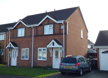 Thumbnail 2 bed semi-detached house to rent in Hillesden Avenue, Bedford