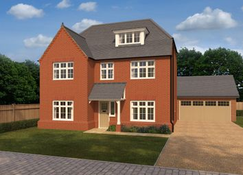 Thumbnail 5 bed detached house for sale in Alconbury Weald, Ermine Street, Alconbury, Huntingdon