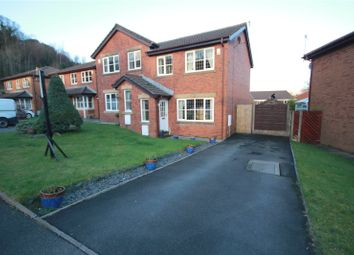 Thumbnail 3 bed semi-detached house for sale in Kinders Fold, Littleborough, Greater Manchester