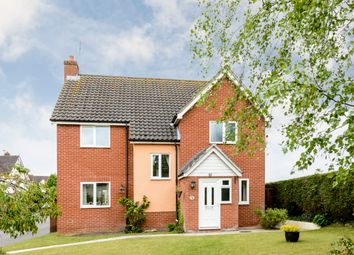 Thumbnail 4 bed detached house for sale in Ryders Way, Rickinghall, Diss