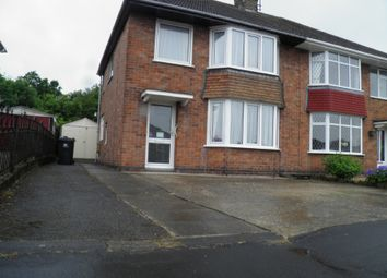 Thumbnail 3 bed semi-detached house to rent in Peak Avenue, Riddings, Derbyshire