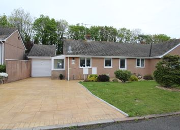 Thumbnail 2 bed semi-detached house for sale in Lamorna Park, Torpoint