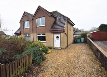 Thumbnail 2 bed semi-detached house for sale in Westcraigs Road, Harthill, Shotts