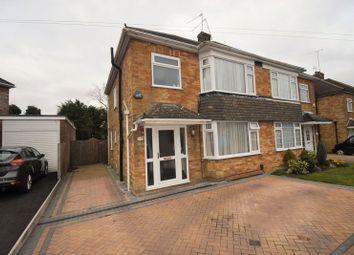 Thumbnail 3 bedroom semi-detached house for sale in Leafields, Houghton Regis, Dunstable