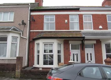 Thumbnail 3 bed terraced house to rent in Tydfil Street, Barry, Vale Of Glamorgan