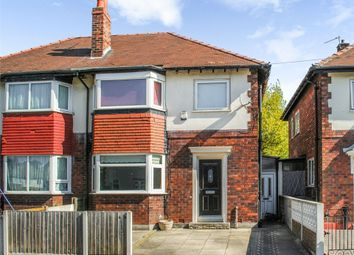 Thumbnail 3 bed semi-detached house for sale in Siddington Avenue, Stockport, Cheshire
