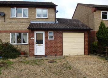Thumbnail 3 bed semi-detached house to rent in Swift Close, March