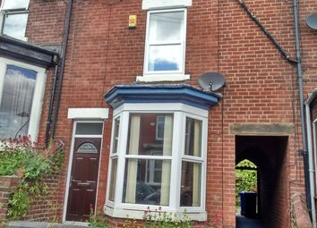 Thumbnail 3 bedroom terraced house to rent in Fulmer Road, Sheffield