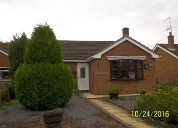 Thumbnail 2 bed detached bungalow to rent in High Road, Gorefield Wisbech