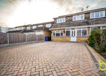 Thumbnail 3 bed semi-detached house for sale in Fen Close, Bulphan, Upminster