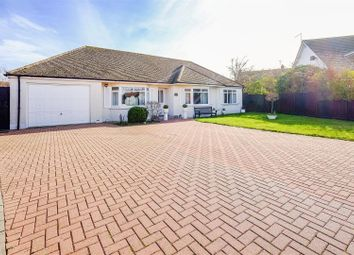 Fair Lawn, Chestfield, Whitstable CT5. 3 bed detached bungalow for sale