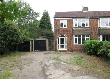 Thumbnail 3 bedroom semi-detached house for sale in Uttoxeter Road, Mickleover, Derby