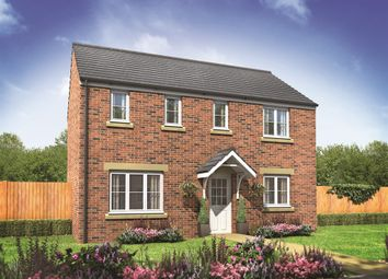 "Thumbnail 3 bedroom detached house for sale in ""The Clayton "" at Lime Avenue, Oulton, Lowestoft"