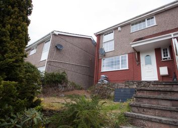 Thumbnail 3 bed semi-detached house for sale in Leatfield Drive, Crownhill, Plymouth