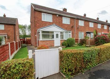 Thumbnail 3 bed end terrace house for sale in Rushton Drive, Bramhall, Stockport