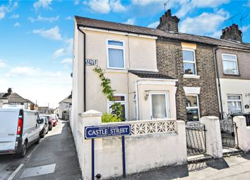 Thumbnail 3 bed end terrace house for sale in Castle Street, Swanscombe, Kent
