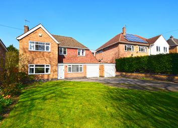 Thumbnail 4 bed detached house for sale in The Fairway, Oadby, Leicester, Leicestershire